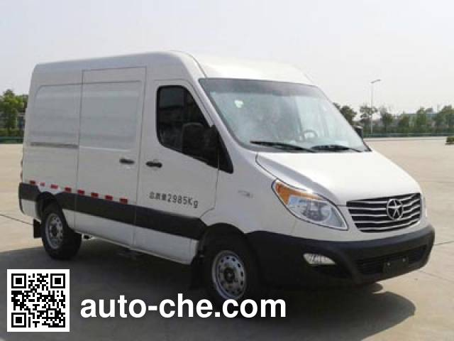 JAC HFC5037XXYK1MDF box van truck