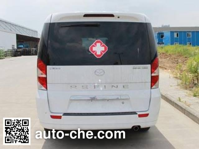 江淮牌HFC5038XJHLA4F救护车
