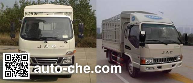 JAC HFC5040CCYP93K5B4 stake truck