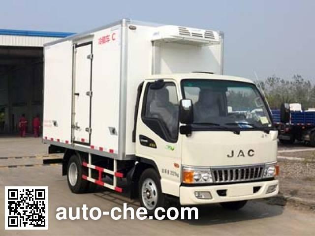 JAC HFC5040XLCP93K9B4 refrigerated truck