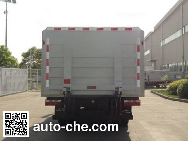 JAC HFC5040XTYVZ sealed garbage container truck
