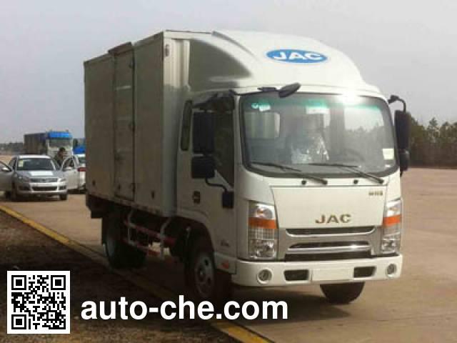 JAC HFC5040XXYP73K3B4 box van truck