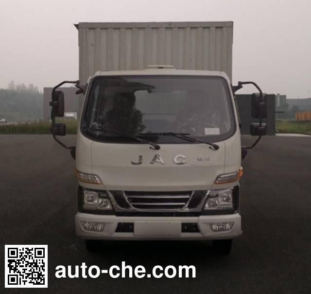 JAC HFC5040XXYP93K10B4 box van truck