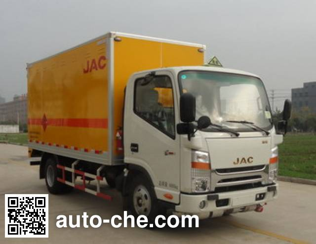 JAC HFC5040XYNKZ fireworks and firecrackers transport truck