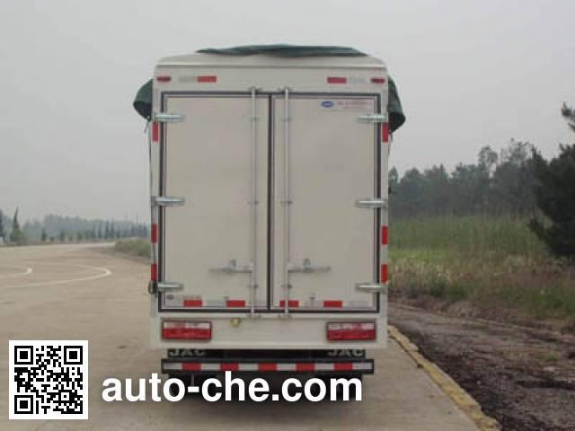 JAC HFC5041CPYP73K4C3 soft top box van truck