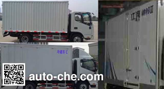 JAC HFC5041XLCP73K2C3V refrigerated truck