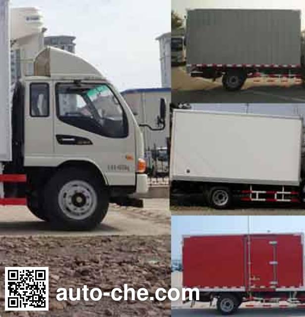 JAC HFC5041XLCP93K1C2V refrigerated truck
