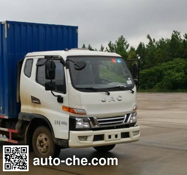 JAC HFC5043XXYP91K4C2V box van truck