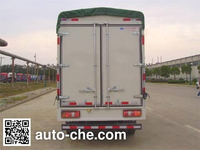 JAC HFC5041CPYR92K1C2 soft top box van truck