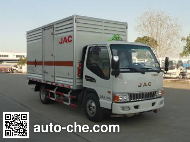 JAC HFC5071TQPXZ gas cylinder transport truck