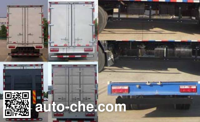JAC HFC5045XLCP92K1C2V refrigerated truck
