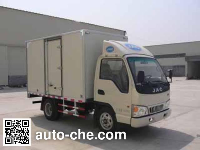 JAC HFC5046XXYP93K2B4 box van truck