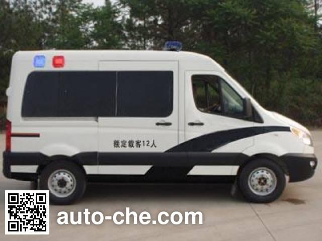 JAC HFC5047XQCKMDF prisoner transport vehicle