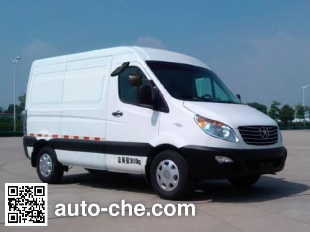 JAC HFC5047XXYKMDF box van truck