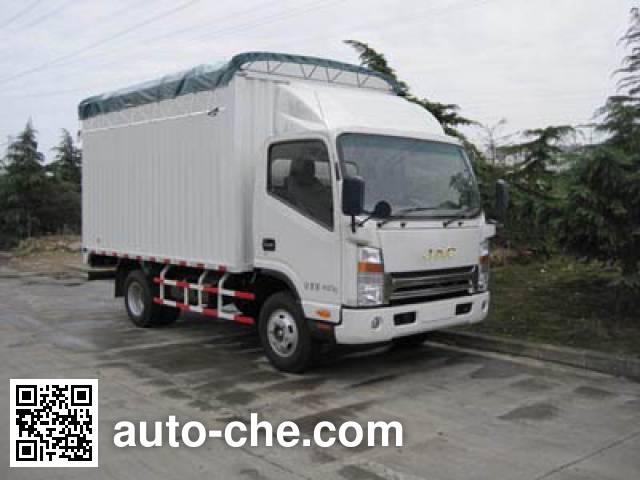 JAC HFC5048CPYP71K1C2 soft top box van truck