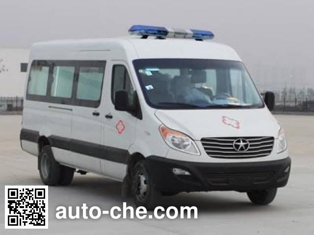 江淮牌HFC5049XJHKMF救护车