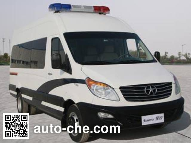 JAC HFC5049XKCKHF investigation team car