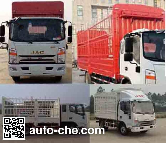 JAC HFC5120CCYP71K1C6 stake truck