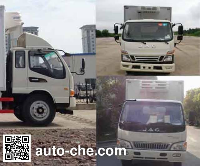 江淮牌HFC5056XLCP91K1C6V冷藏车