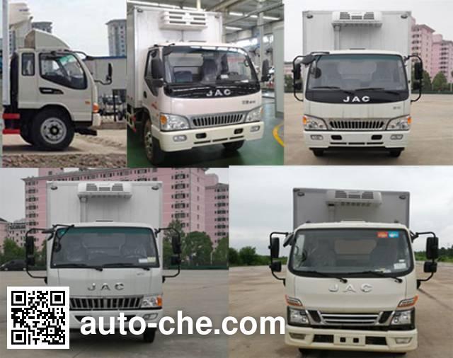 江淮牌HFC5080XLCP91K1C2V冷藏车
