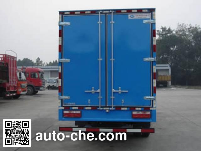 JAC HFC5091XXYP81K2C5 box van truck