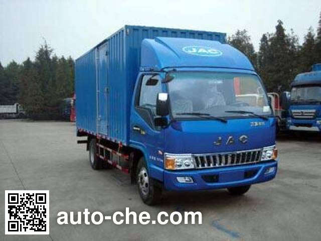 JAC HFC2043XXYP91K1C2V cross-country box van truck