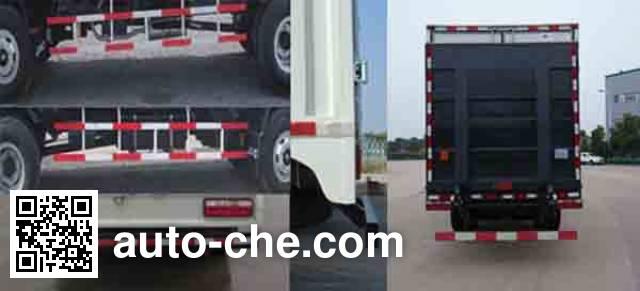 JAC HFC5100XXYP91K1C5 box van truck