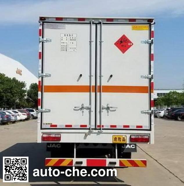 JAC HFC5140XQYVZ explosives transport truck
