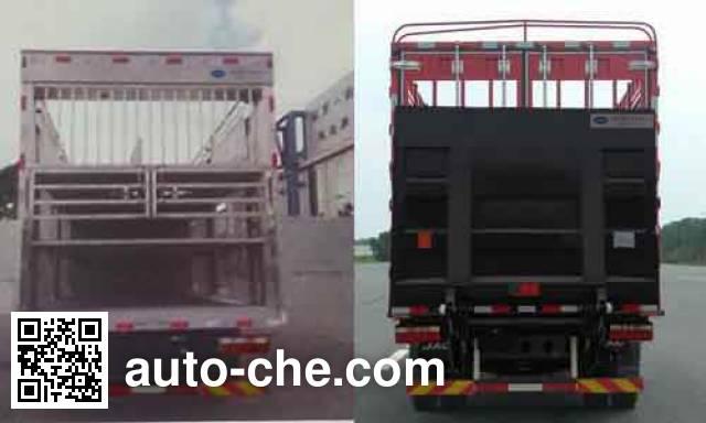 JAC HFC5141CCQP91K1D4 livestock transport truck
