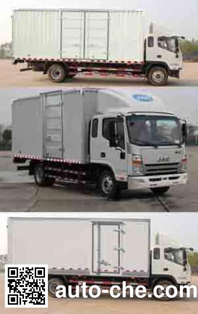 JAC HFC5141XXYP70K1E2 box van truck