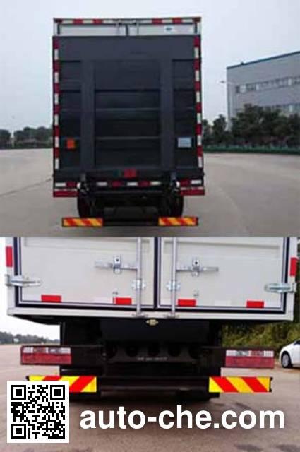 JAC HFC5141XXYP70K2E2 box van truck