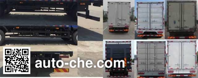 JAC HFC5160XLCPZ5K1E1V refrigerated truck