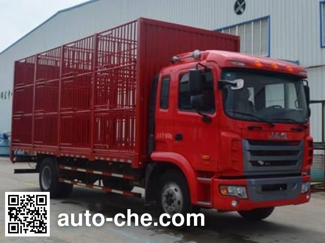 JAC HFC5161CCQP3K1A47S3V livestock transport truck