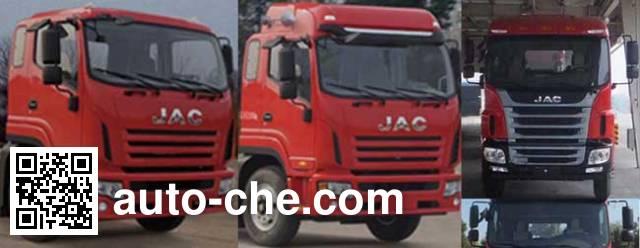 江淮牌HFC5161CCQP3K2A53F畜禽运输车