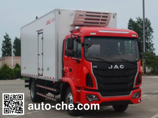 JAC HFC5161XLCP3K1A57V refrigerated truck