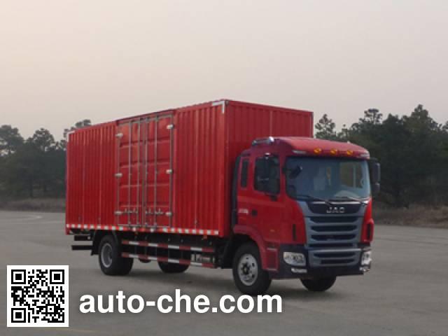 江淮牌HFC5161XXYP3K1A47S3V厢式运输车