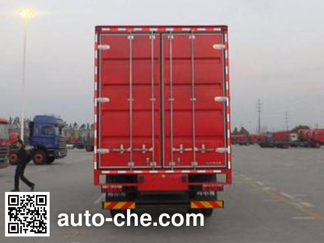 JAC HFC5161XXYP3K1A50S1V box van truck
