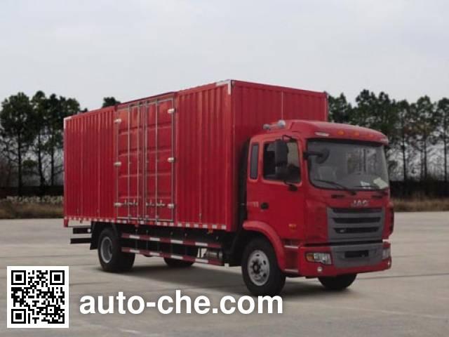 JAC HFC5161XXYP3K2A50S2V box van truck