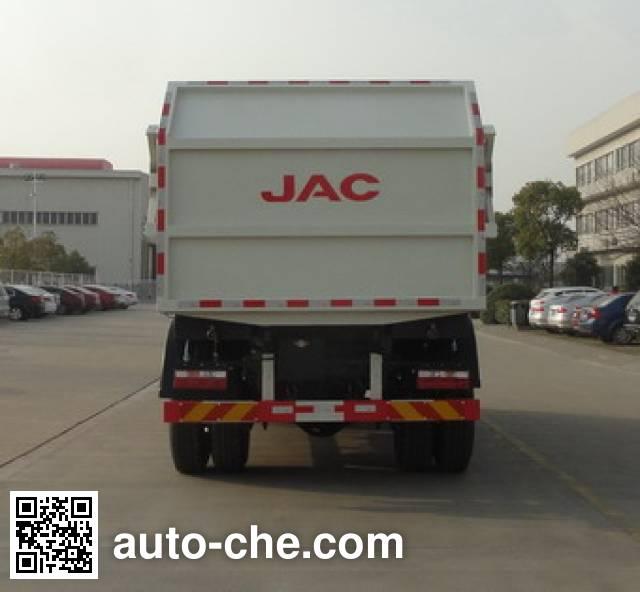 JAC HFC5161ZDJVZ docking garbage compactor truck