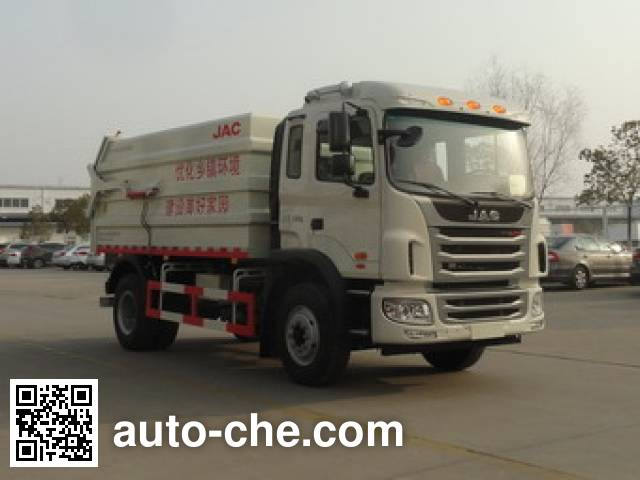JAC HFC5161ZDJVZ docking garbage compactor truck
