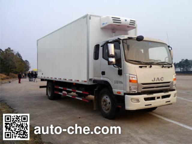 江淮牌HFC5162XLCP70K1E3V冷藏车