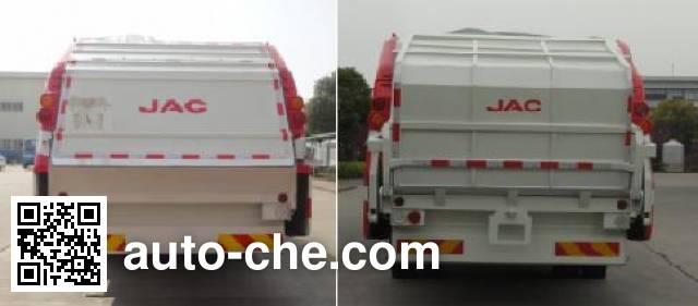 JAC HFC5162ZYSVZ garbage compactor truck