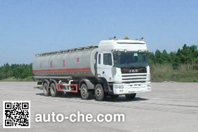 JAC HFC5312GHYKR1 chemical liquid tank truck