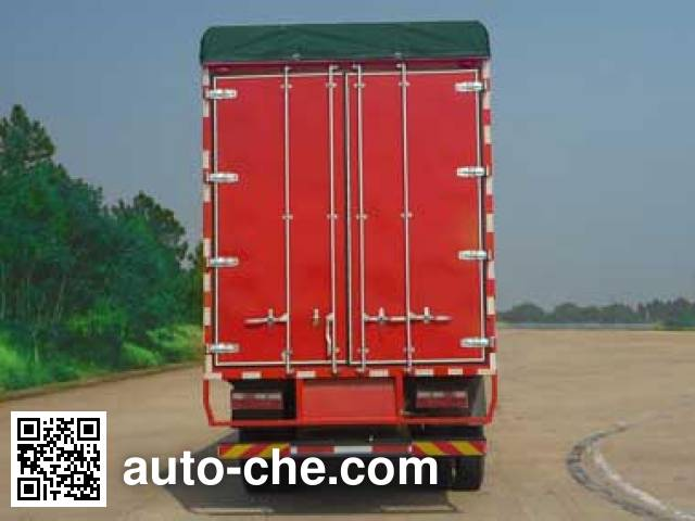JAC HFC5245XXBK3R1LT soft top box van truck