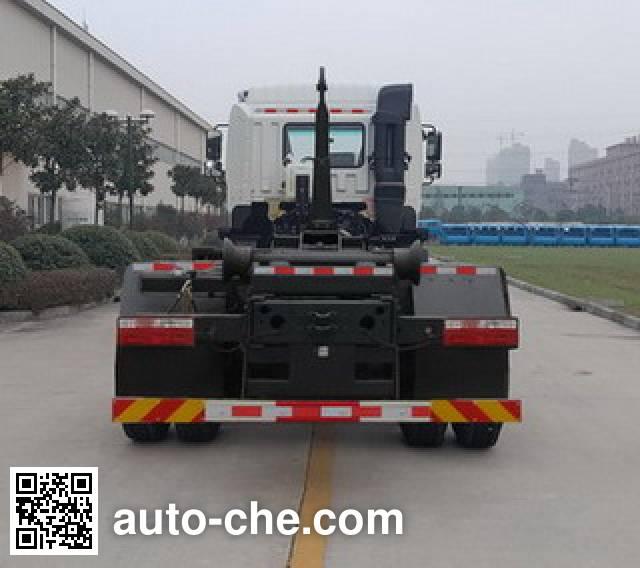 JAC HFC5250ZXXZ detachable body garbage truck