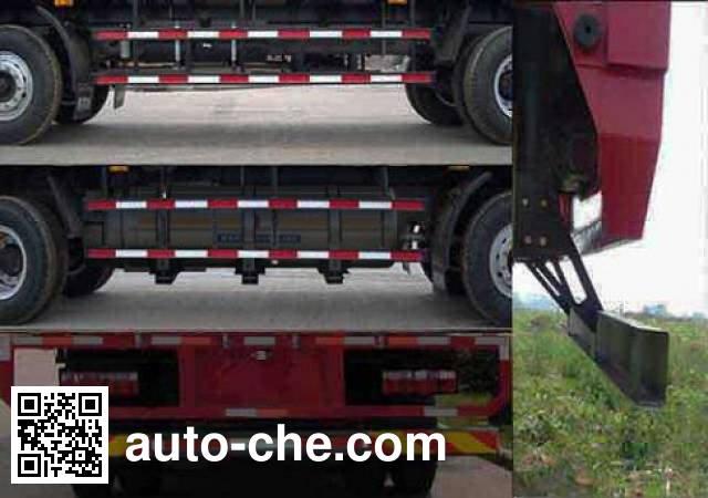 JAC HFC5251XXYP2K2C54V box van truck