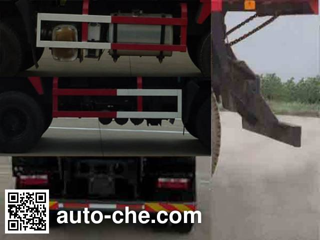 JAC HFC3251P1K5E45F dump truck