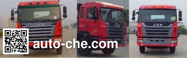 JAC HFC5252GJBL1F concrete mixer truck