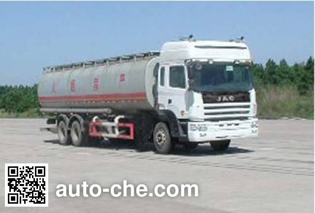 JAC HFC5254GHYKR1 chemical liquid tank truck