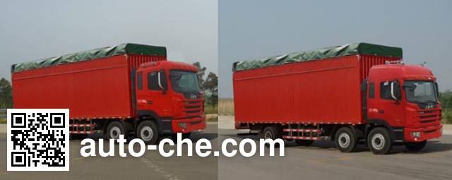 JAC HFC5256XXBK2R1HT soft top box van truck